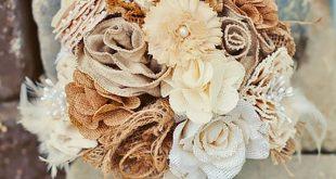 30 Chic Rustic Burlap & Lace Wedding Decor Ideas