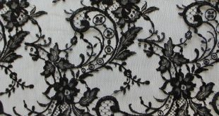 Black Chantilly Lace – Kate