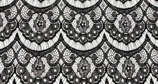 Black Eyelash Lace Fabric | Tag Archives: Skirts Midi Panels Waterfall-Hem Embel...