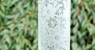 How to Make an Etched Glass Water Bottle