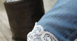 Lace Diy Boot Cuffs