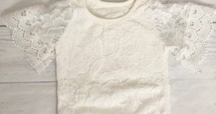 Lace baby romper- boho baby romper-baby clothes-lace bodysuit for baby-lace leotard-bell sleeve baby romper-boho baby birthday outfit