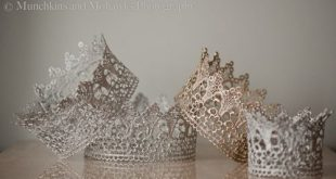 Microwave Lace Crown Is Princess Perfect