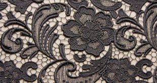 black Lace Fabric,Retro Hollowed Out Floral, venise lace fabric, costume lace fabric, long dress fabric lace
