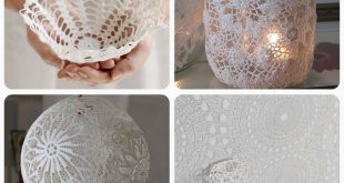doily crafts & diy roundup