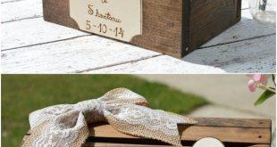 22 Creative Wedding Card Box Ideas