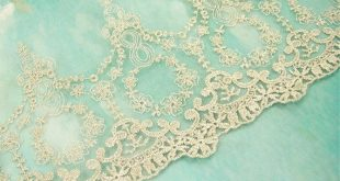 Embroidery Lace Trim Gold Lace Trim Floral Lace Edging Embroideried Flower Lace Trims 6.1''Width for Dance Costumes Craft Projects 1 Yard