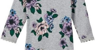 Lace Trim Bodysuit (Baby Girls)