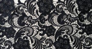 Retro Black Lace Trim Embroidered Lace Fabric Wedding Bridal | Etsy