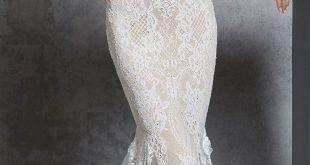 55 Halter neck wedding dresses that timeless and glamour , halter neck wedding d...