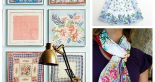 Craft Ideas Using Vintage Hankies