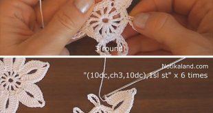 Easy Crochet Lace Flower You Should Learn