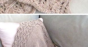 Knitting Pattern for Elora Baby Blanket - Leaf lace cascades down and around the...