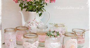 8 #Windlichter im Shabby- und Vintage-Look als #Hochzeitsdeko. de.dawanda.com/.....