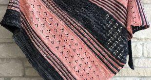 Blooming Texture Shawl pattern by Tina Tse