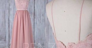 Bridesmaid Dress Deep V Neck Ball Gown Light Gray Wedding Dress Beaded Chiffon Long Maxi Dress Ruched Open Back A-Line Prom Dress(L156)