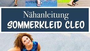 Freebook - Sommerkleid nähen mit kostenfreiem Schnittmuster
