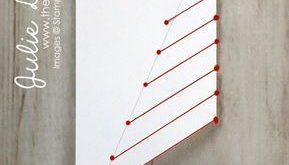 Lace Fold Card Instructions | The Way We Stamp | Julie DeGuia | Holiday Card Ide...