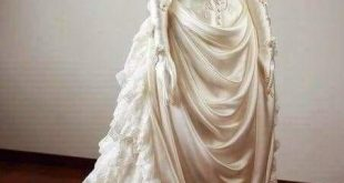 1890 wedding gown beauty.