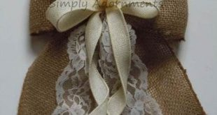 27+  Ideas For Wedding Decorations Country Chic Burlap Lace