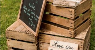 45 Chic Rustic Burlap and Lace Wedding Ideas and Inspiration | www.tulleandchant...