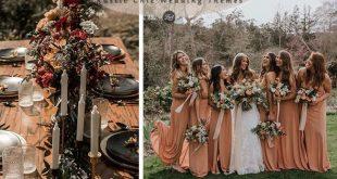 6 Inspiring & Trending Modernized Rustic Chic Wedding Theme Ideas