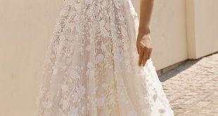 BERTA Wedding Dresses 2019 - Athens Bridal Collection. Sleeveless ball gown wedd