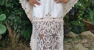 Beige Vintage Lace Boho Angel Maxi Dress. Vintage Fabric. Elegant Look
