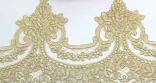 Cheap Lace, Buy Directly from China Suppliers:Gold Embroidered Lace Appliqued 5 ...