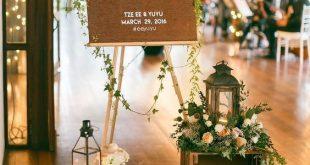 Hochzeitsdekoration Hochzeitsdeko Champagner Tisch Tisch en bois Hochzeitsdeko ...  #champagn...
