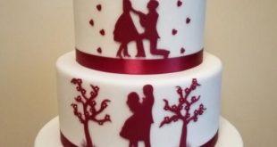 Hochzeitstorte von Gabriela Doroghy - cakesdecor.com / ...   - Wedding Cakes -  ...