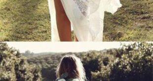 Ivory Sheath Brush Train Long Sleeve Backless Lace Wedding Dress,Beach Wedding D...