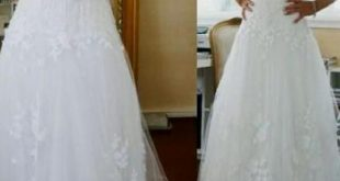 Outlet Easy Lace White Wedding Dresses, Lace Wedding Dresses, White Wedding Dresses