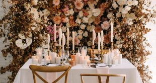 This Floral Backdrop will Have You Dreaming of Fall