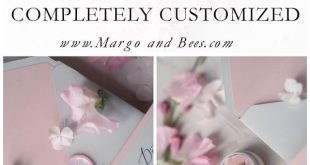 Vintage Lace Wedding Invitations Elegant Invites Grey and Blush Pink 3/LACEE/Z