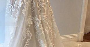 weißes Brautkleid Spaghettiträger Brautkleider V-Ausschnitt mit Taschen Ärmellose Brautkleider