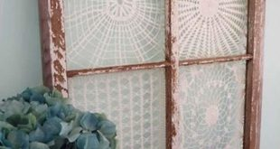 22 mesmerizing homemade diy lace crafts to beautify your home usefuldiyprojects....