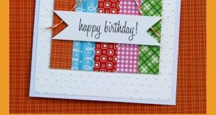 25 + › 31 Tage handgemachte Karten – Tag 23