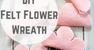 DIY Sizzix Tutorial: Wie man einen Filzkranz macht