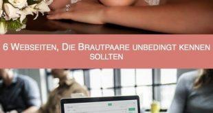 6 Webseiten, die Brautpaare unbedingt kennen sollten
