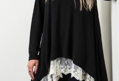 Black Lace Sweater                                                              ...