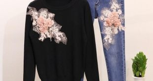 Buy Autumn Women Bead Embroidered 3D Flowers at Narvay.com.Beanies & Winter ...