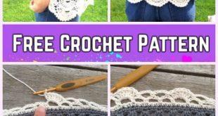 Crochet Decoration - HAND EMBROIDERY : MONOGRAM