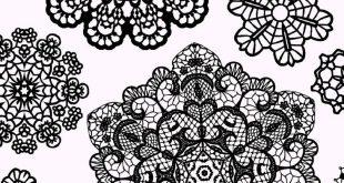 Doilies Fabric