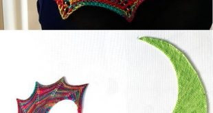 Free Knitting Pattern for Smash Shawl - Asymmetric shawl knit in garter stitch s...