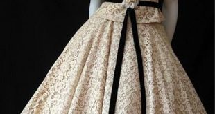 Good idea is a less tablecloth-like lace is used - I like the high neck. Gorgeou...