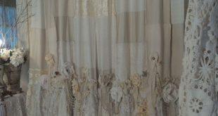 Handmade Vintage Lace Curtains 2 Curtain Panels 57x100 Boho Gypsy Jewelry tmyers