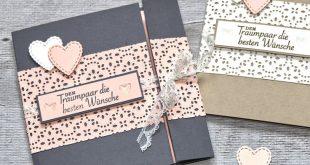 """Hochzeitskarte """"Garten der Liebe"""""""