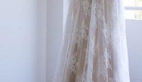 LoverBridalPlain Lace Cap Sleeves V-neck Cheap Wedding…