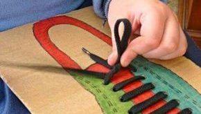 Machen Sie die Schnürsenkel - Feinmotorik -  #die #Feinmotorik #machen #Schnür...